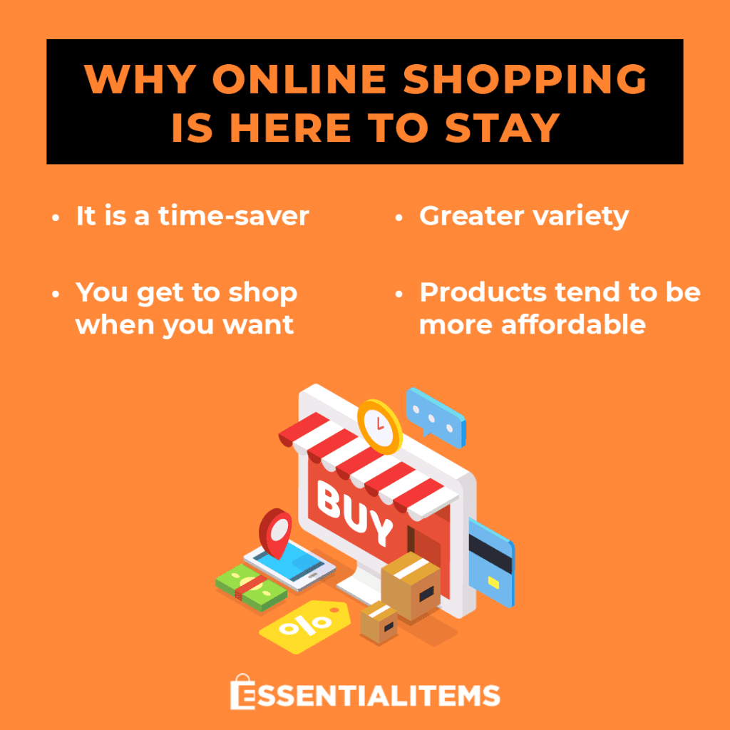 online shopping essential items